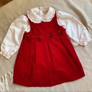 Vintage Holiday 2pc Outfit 3T